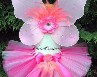 Baby Girl Flamingo Costume - Flamingo Tutu Costume - Girl Costume - Halloween Costume for Girls