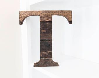 Rustic Home Decor, Farmhouse Decor, Wood Letter, Wall Letter , Wooden Letter, Nursery Wall Letter, Rustic Letter, Wooden Letter for Wall