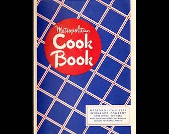Metropolitan Cook Book - Vintage Recipe Book