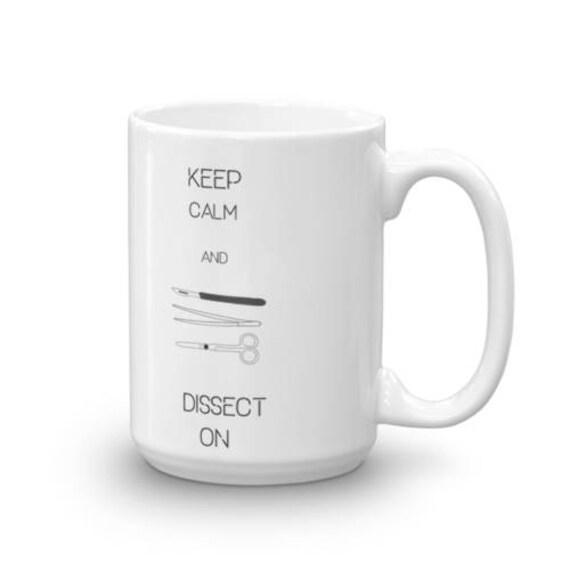 Dissection Ceramic Coffee Mug