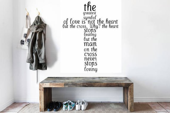 The Greatest Symbol Of Love Is Not The Heart But The Cross