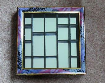 Vintage Mirrored Miniature Curio Cabinet
