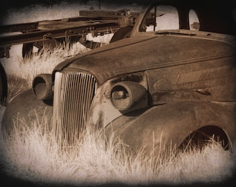 Bodie Ghost Town Old Car California Chevy Rusty Auto Abandoned Antique Photo Garage Wall Art Boys Room Office Parts Store Sepia State Park