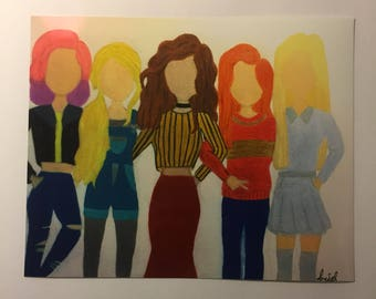 Harry Potter female characters modern design Nymphadora Tonks Luna Lovegood Hermione Granger Ginny Weasley Fleur Dleacour