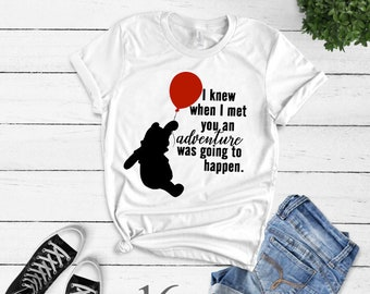 Pooh bear, Adventure, AA Milne, Quote, Winnie the pooh,  Tee, kids, infant, toddler, adult