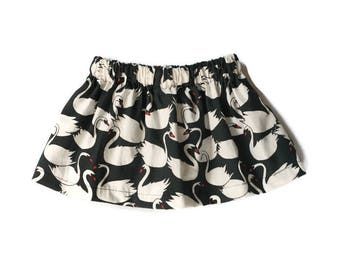 Swan Skirt - 9/12 months / Ready To Ship