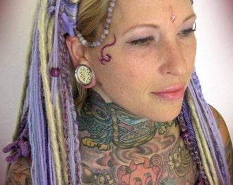 Galactic Lavender Goddess Headdress
