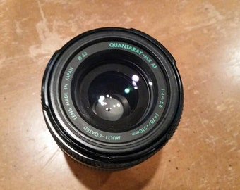 Quantaray Auto Focus 70-210mm camera lens