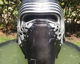 Kylo Ren Helmet - Finished and ready to wear!