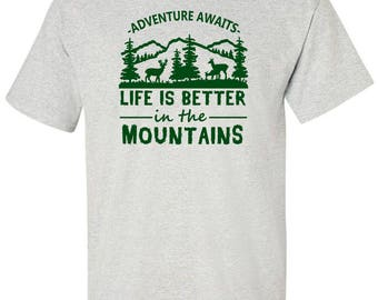 Camping T-Shirt - Gift Idea for Campers