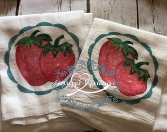 Strawberry Tea Towel