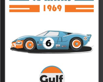 Le Mans 1969, le mans