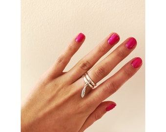 Sterling silver  925 stacking ring
