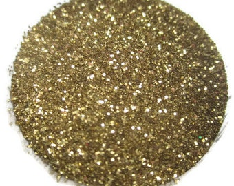 Gold Tinsel Embossing Powder Container for Stamping USED
