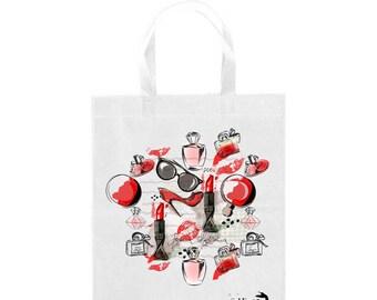 Fashion tote bag, shopping bag