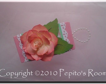 PRA Just a Rose Accent SVG file - Scrapbooking, Card making, 3D Projects - PR