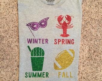 Louisiana four seasons