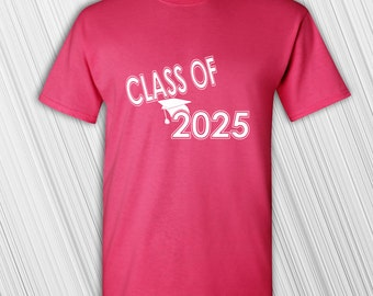 Class of 2025 T-shirt | Tee | Back to School | Custom Year | Personalized T-shirt | Gift for her | Gift for him | Grade School Student Gift