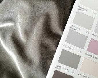 Slip On Luxury Velvet Mannequin Dressform COVER ONLY - Pebble Grey