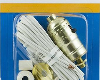 Bottle Lamp Kit-add on for tassel chandelier