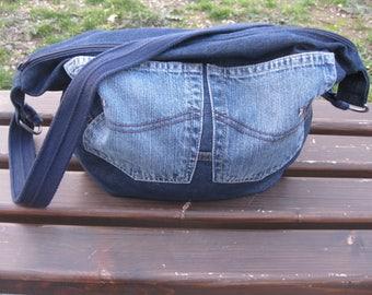 sport bag,Denim bag,handbag,slouchy bag,shoulder bag,bags,jeans bag,streetfashion,grungestyle,hippie,Женские сумки,recycleddenim,Сумки,gifts