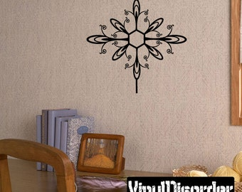 Snowflakes Vinyl Wall Decal Or Car Sticker - Mv002ET