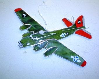 B17 Bomber airplane