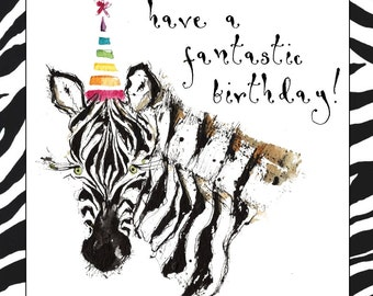 Happy Birthday Card - Handmade