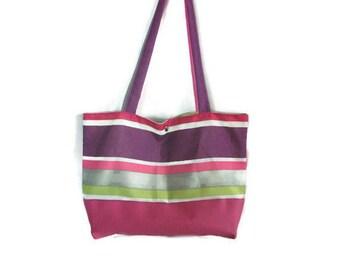 Foldaway Tote - pink mauve by VIDA VIDA IBZ89r25