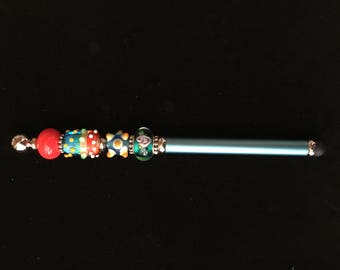 Fanciful Lampwork Bead Electronic Touch Stylus