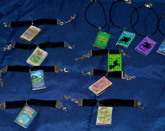 Once Upon Book Pendant Necklace ~MSD, SD, 70 CM