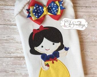 snow shirt, princess shirt, apple birthday, snow princess Halloween , princess apple shirt, princess shirt, princess snow birthday tutu