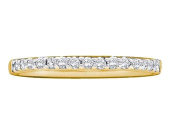 14k Solid Yellow Gold Wedding Band Thin 2mm Classic Ring