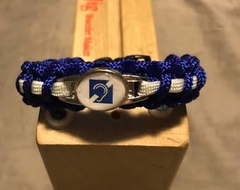 Deaf Awareness Paracord Bracelet
