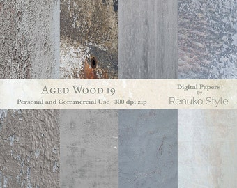 Aged Wood 19 Digital backgrounds photoshop textures scrapbook paper