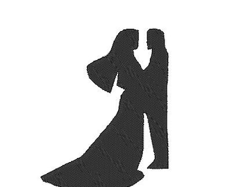 Wedding Embroidery Design, Bride and Groom Embroidery Design,Wedding Embroidery Download, Groom Bride Embroidery Design,Instant Download