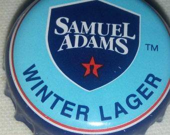 50 Samuel Adams winter lager beer bottle caps