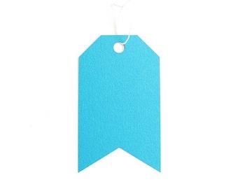 Jumbo Tag Set - Caribbean Blue