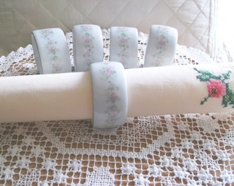 Set of 5 Napkin Rings - Kentfield and Sawyer - CLEARANCE SALE