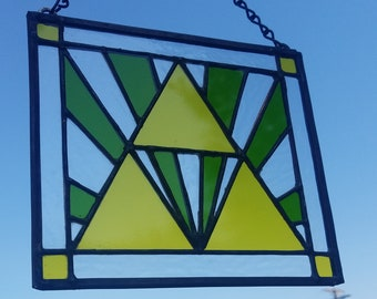 The Legend of Zelda - Triforce - Stained Glass