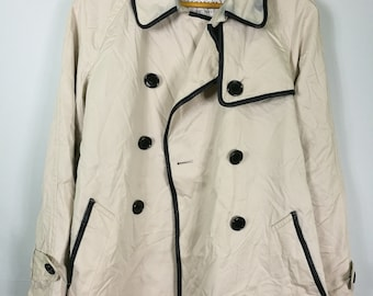 COACH trench coat beige size M