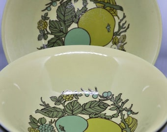 3 Alfred Meakin Cereal or Soup Bowls, Appledore Pattern
