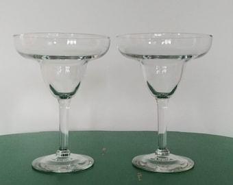 Pair of Margarita Glasses - 12 oz