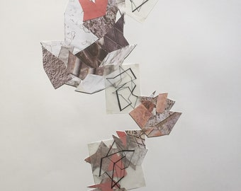 A1 Mixed Media Collage