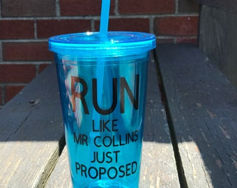 Jane Austen Run Like Mr Collins Just Proposed