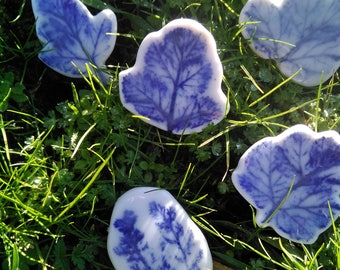 Porcelain Brooches
