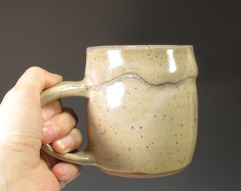 Pottery Mug - Coffee Mug - Tea mug - Ceramic Coffee Cup - Ceramic Mug - Handmade Pottery Mug - Earthy Rustic Mug - Morning Coffee Mug