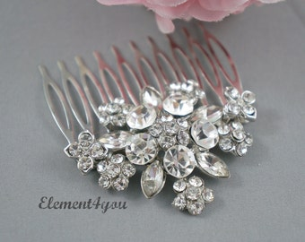 Bridal Comb, Rhinestone Comb, Bridal Comb Crystal, Wedding Hair Comb, Wedding Accessory, Bridal Headpiece, Bridesmaid hair piece gift