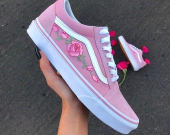 vans mit rosen damen