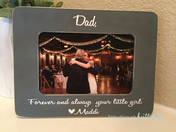 Father Of The Bride Gift Forever Your Little Girl Father